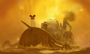 Epic Mickey Early Concept Art.
