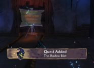 The Shadow Blot Quest