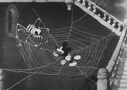 Skeleton spider and mickey
