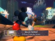 OsTown Projector Screen quest