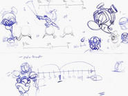 Early Prescott and Mad doctor sketches