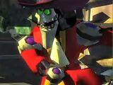 Animatronic Captain Hook