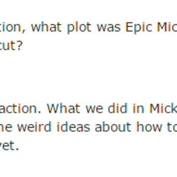 Epic Mickey 3 (Cancelled)