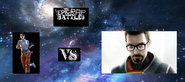 Chell vs gordon freeman