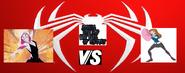 Spider gwen vs gwen tennyson