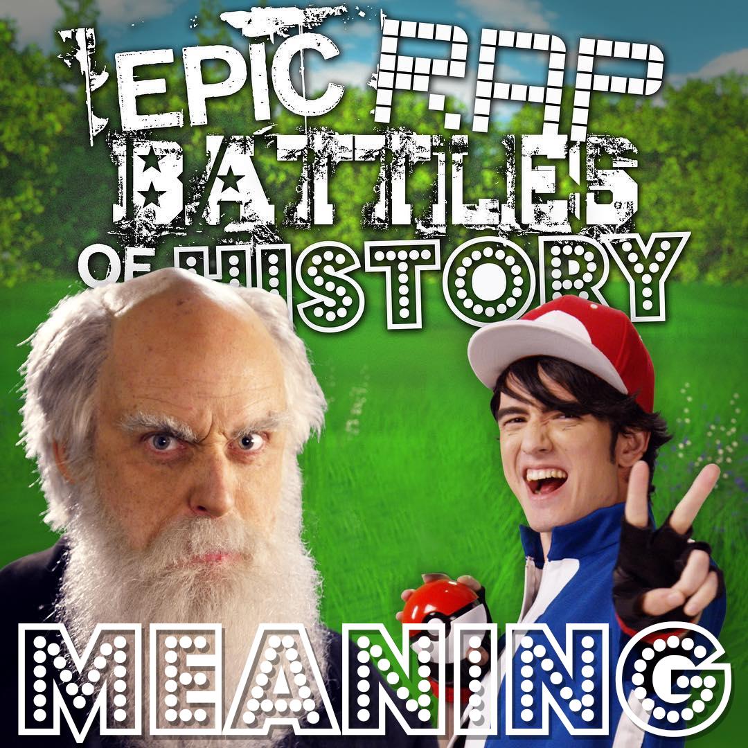 Ash Ketchum vs Charles Darwin/Rap Meanings