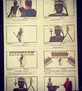 Shaka Zulu vs Julius Caesar Storyboard