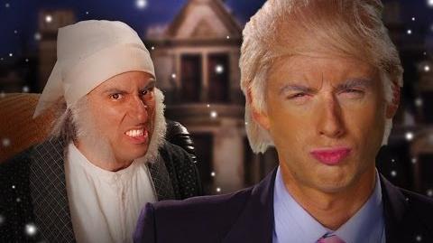 Trump vs Scrooge colors