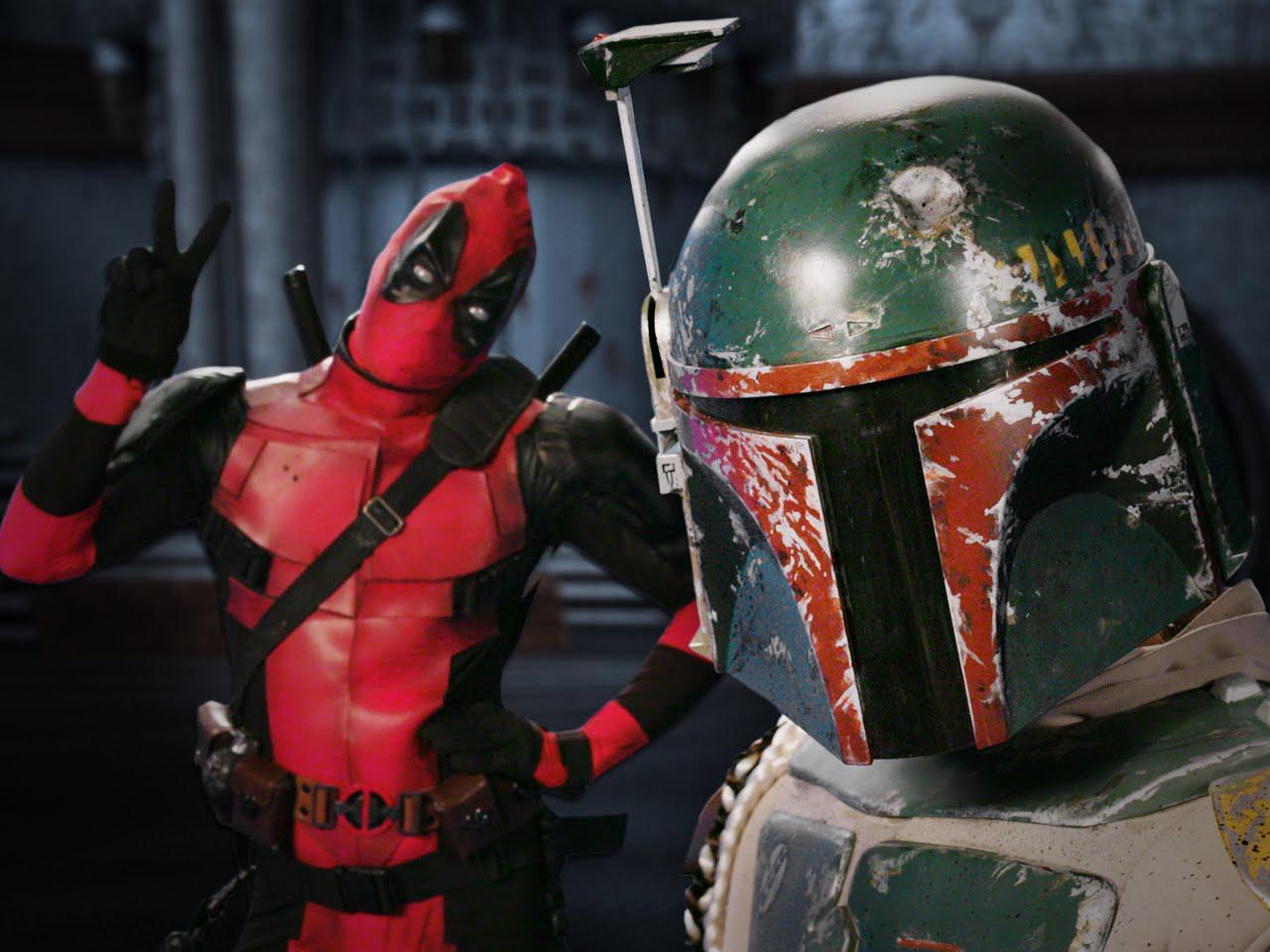 Deadpool vs Boba Fett/Gallery