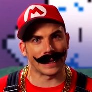 Mario In Battle