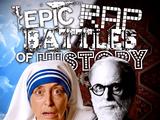 Mother Teresa vs Sigmund Freud/Rap Meanings