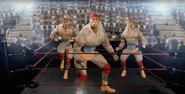 Sports Ring Hulk Hogan and Macho Man vs Kim Jong-il Re-edit