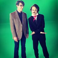 Stephen King and Edgar Allan Poe Behind the Scenes