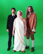 The Western Philosophers Behind the Scenes
