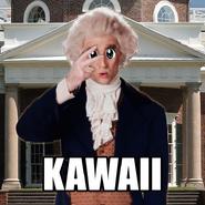 Kawaii Thomas Jefferson
