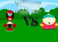 Strong bad vs eric cartman
