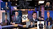Jimmy kimmel vs jimmy fellon ft john oliver conan o brain jay leno trevor noah and Stephen Colbert Seth Meyers and sean hannity