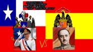Francisco franco vs augusto pinochet