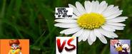 Princess daisy vs daisy duckl