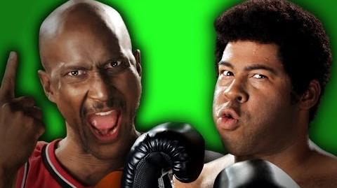 Epic Rap Battles of History - Behind the Scenes - Michael Jordan vs Muhammad Ali