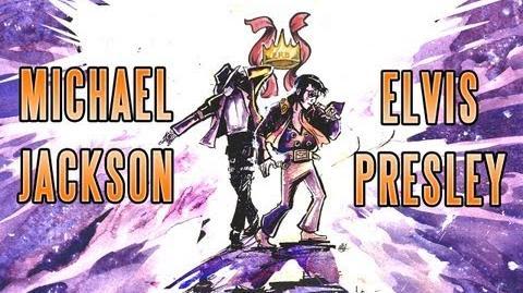MICHAEL JACKSON vs ELVIS PRESLEY - EPIC DRAWING OF HISTORY!