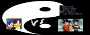 Sonic and shadow vs goku and vegeta
