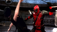 Deadpool Decapitates Street Tough