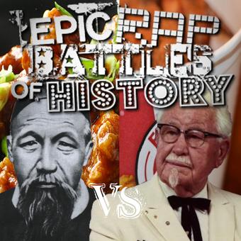User Blog J1coupe Lost Battle For Christmas General Tso Vs Colonel Sanders Epic Rap Battles Of History Wiki Fandom