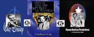 Walt disney vs tex avery vs william hanna and joseph barbera