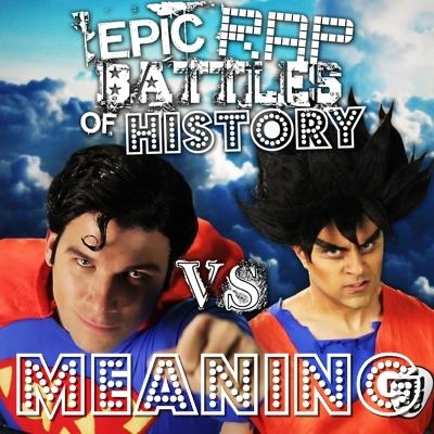 Goku vs Superman/Rap Meanings