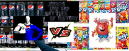 Pepsiman vs the kool aid man