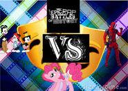Animaniacs vs pinkie pie vs deadpool