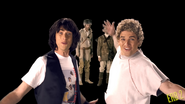 Lewis and Clark vs Bill and Ted Unused Shot