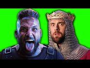 Ragnar Lodbrok vs Richard The Lionheart. ERB Behind the Scenes. Epic Rap Battles of History.