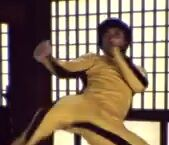 Xin Wuku as Bruce Lee Stunt Double