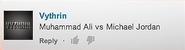 Michael Jordan vs Muhammad Ali Suggestion