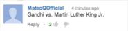 Gandhi vs Martin Luther King Jr. Suggestion