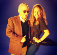 Sulai Lopez with Stan Lee