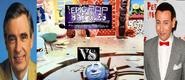Mr.rogers vs pee wee herman