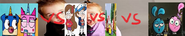 Unikitty and puppycorn vs mabel and diiper vs max and ruby vs yin and yang