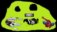 Danny phantom vs spiderman