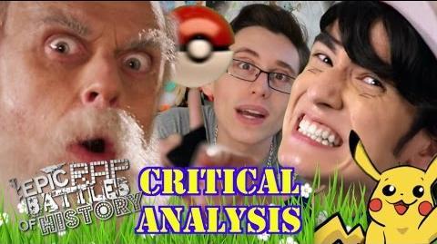 Critical Analysis Ash Ketchum vs Charles Darwin. Epic Rap Battles of History