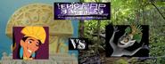 Jerb emperor kuzco vs king julien