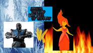 Sub zero vs flame princess