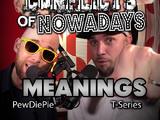 PewDiePie vs T-Series/Rap Meanings