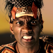Shaka Zulu In Battle