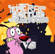 Courage vs the world halloween rap battle idea 6 by lh1200 dcpdk7l-300w