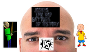 Baldi vs cailou