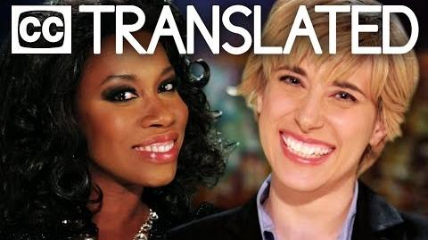 TRANSLATED Oprah vs Ellen. Epic Rap Battles of History