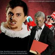 Dr. Seuss vs Shakespeare Alternative Cover